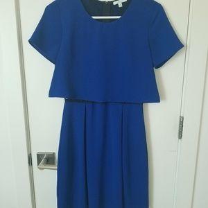 Classic Blue Semi-Formal Dress